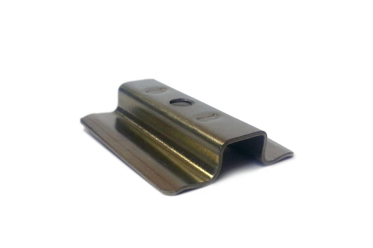 Decking Metal Clips for Teak Hidden Fixing Boards 100 pcs/box