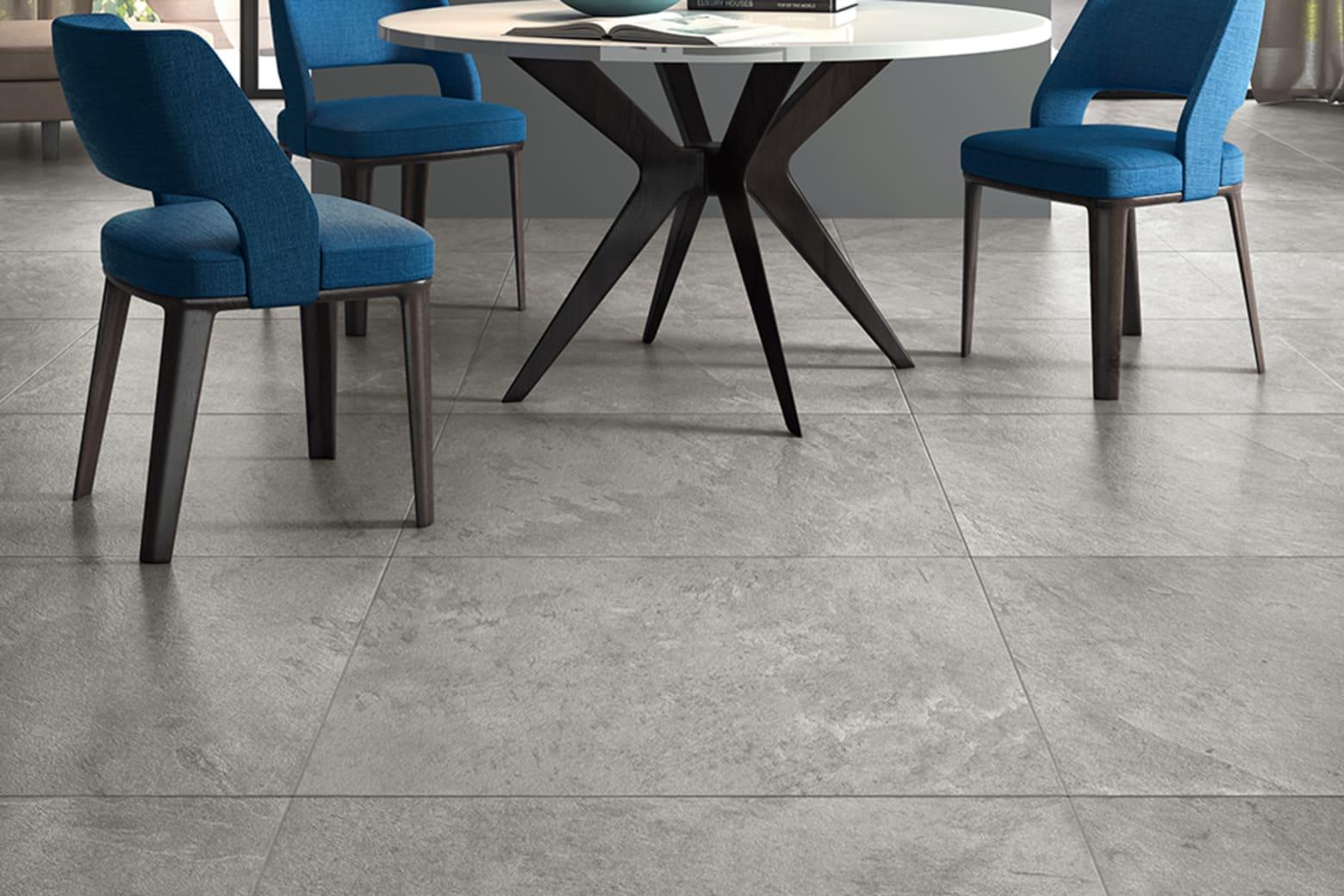 Porcelain Tile Minerva Silver 450mm By 900mm