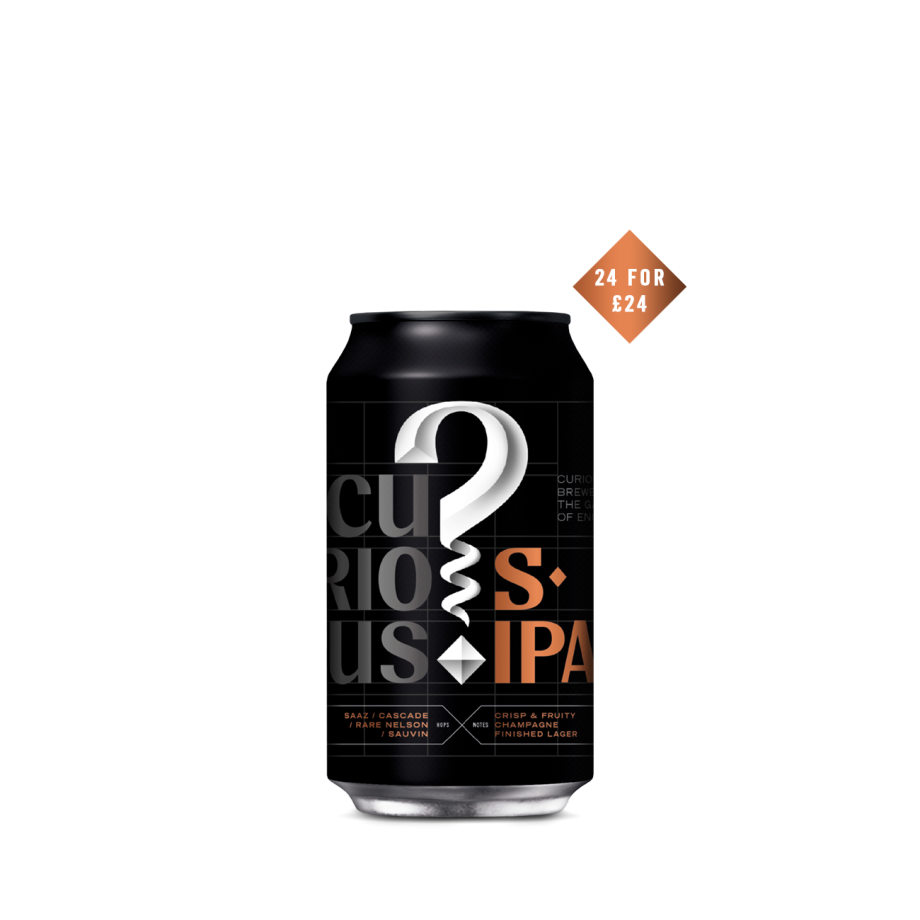 Curious Session IPA - 24 Can Case