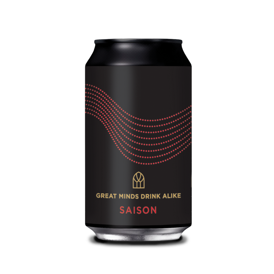 Great Minds Drink Alike Saison