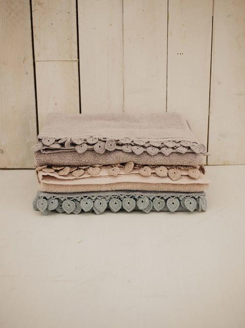Set di 4 asciugamani pastello - Angelica Home & Country