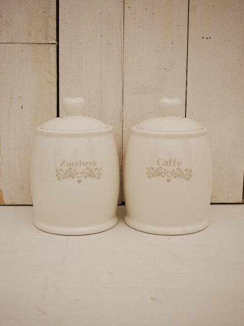 Set barattoli caffè e zucchero - Angelica home & country