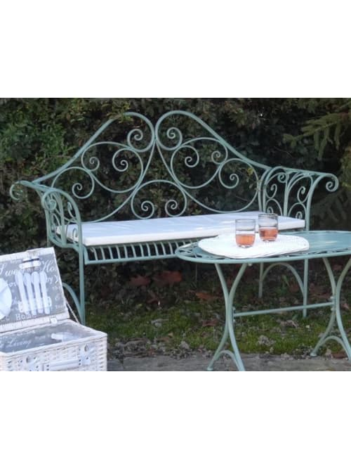 Disraeli panchina garden ferro verde