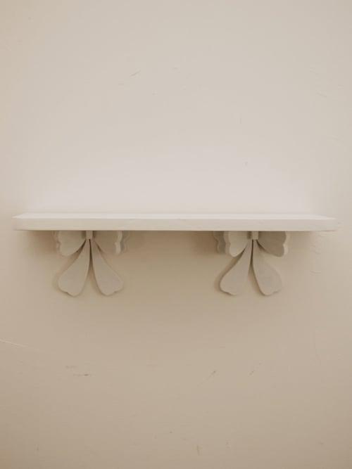 Mensola in stile shabby chic artigianale