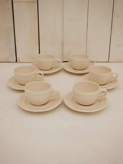 Angelica Home & Country set 6 tazzine caffè Sophia