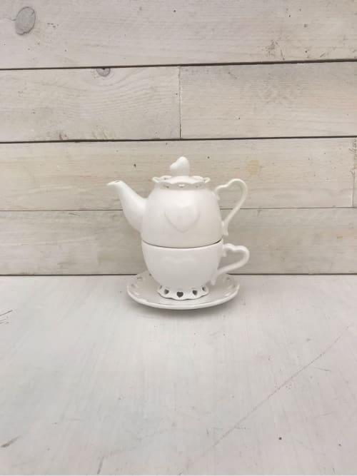 Set tea for one in ceramica - Lorenzongift