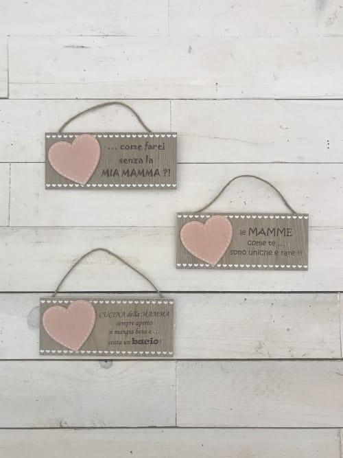 Targhetta dedica per la mamma - Lorenzongift