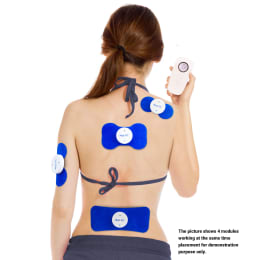 Med-Fit 4 Channel Wireless Tens Machine – Fully Rechargeable - 9 Clinically Validated Programmes