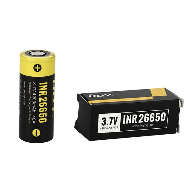 iJoy INR 26650 Battery - 4200 mAh