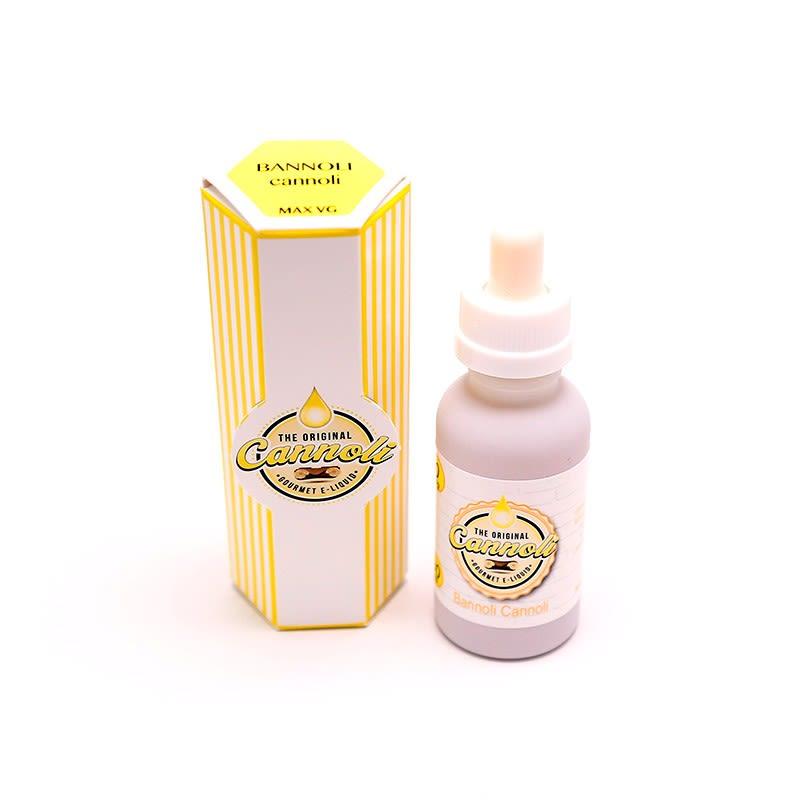 Bannoli Cannoli E-liquide par The Original Cannoli - 30ml