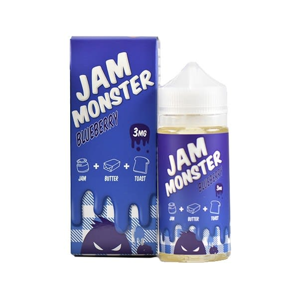 Blueberry Jam Monster E-Liquid - 100ml