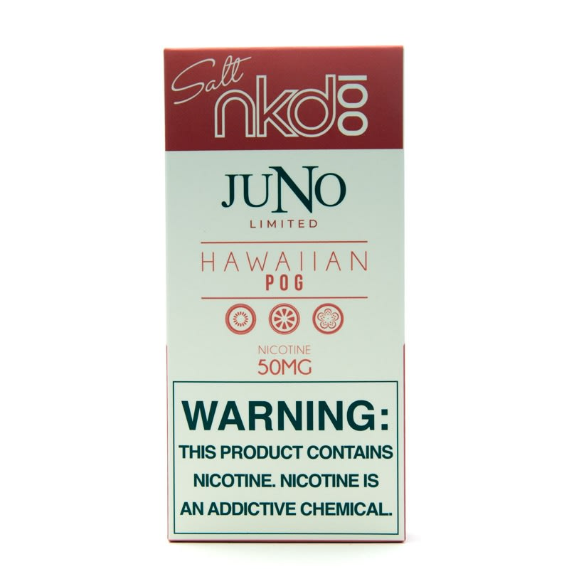 Juno Pods: Naked 100 Salt - Hawaiian POG (4pk)