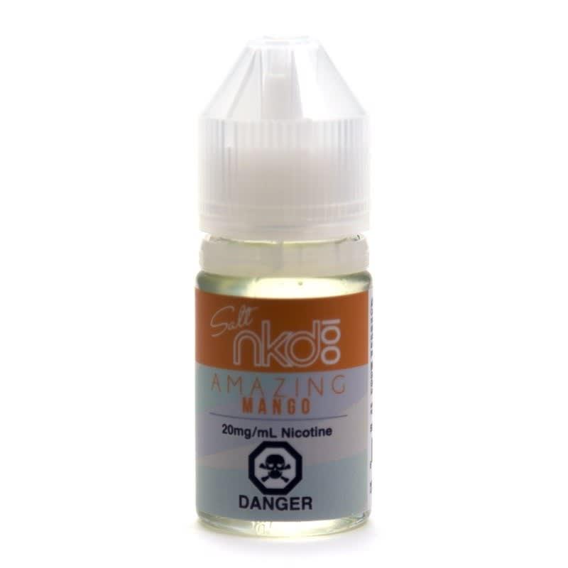 Amazing Mango (Nic Salt) E-liquid by nkd 100 Salt - 30mL