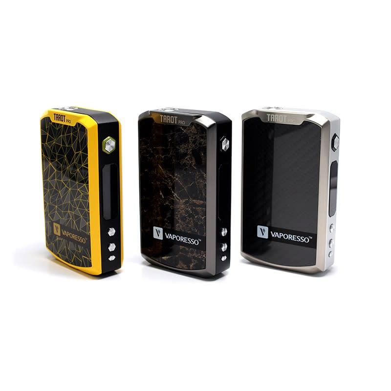 Vapresso Tarot Pro Vape Mod -Yellow-Black-Silver