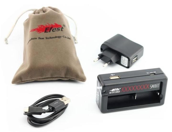 Efest Xsmart universal single charger 3.7V