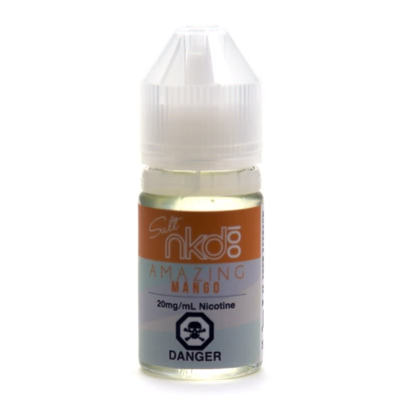 Amazing Mango (Nic Salt) E-liquid by nkd 100 Salt - 30mL