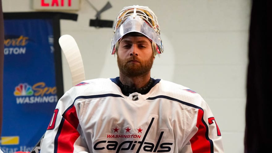 Capitals open camp with questions about Braden Holtby, Niklas Backstrom contracts
