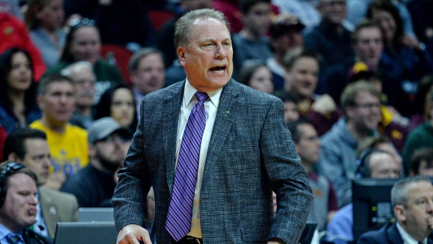 Michigan State players defend Tom Izzo over heated exchange