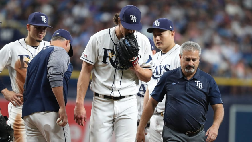What's next for the AL East-leading Rays' pitching staff?