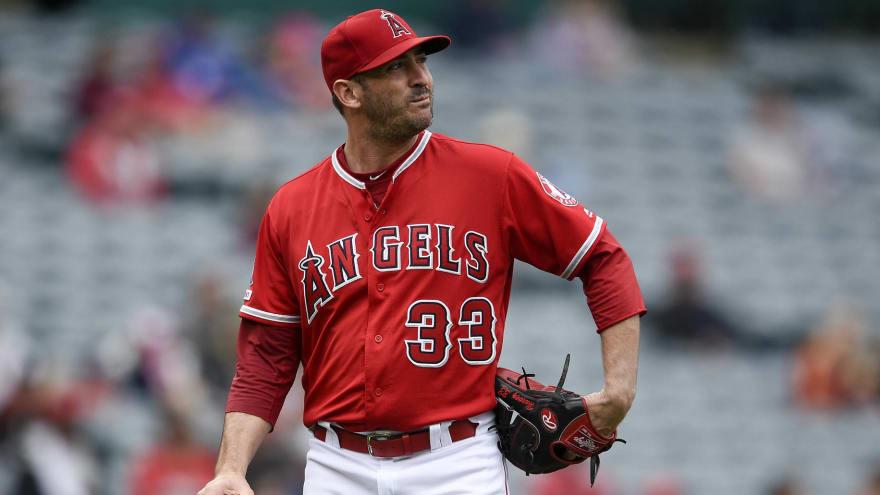 Watch: Twins teeing off on Angels right-hander Matt Harvey