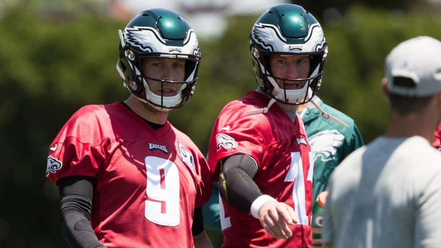 Carson Wentz reveals what he misses with not having Nick Foles around