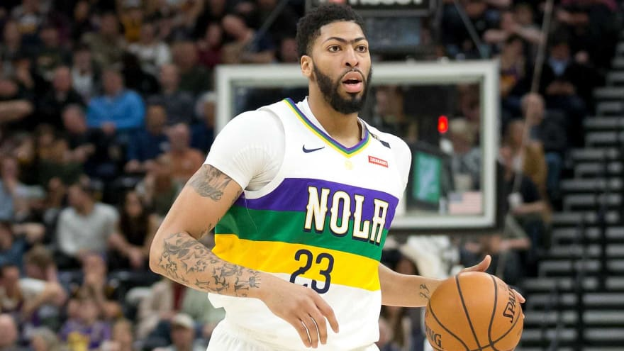 d32b48ce9 Report   No way  Pelicans will trade Anthony Davis to Lakers ...
