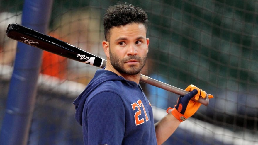Astros' Altuve will do rehab stint before returning from injured list