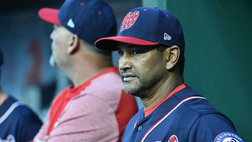 Nats not looking to make any major changes, including at manager