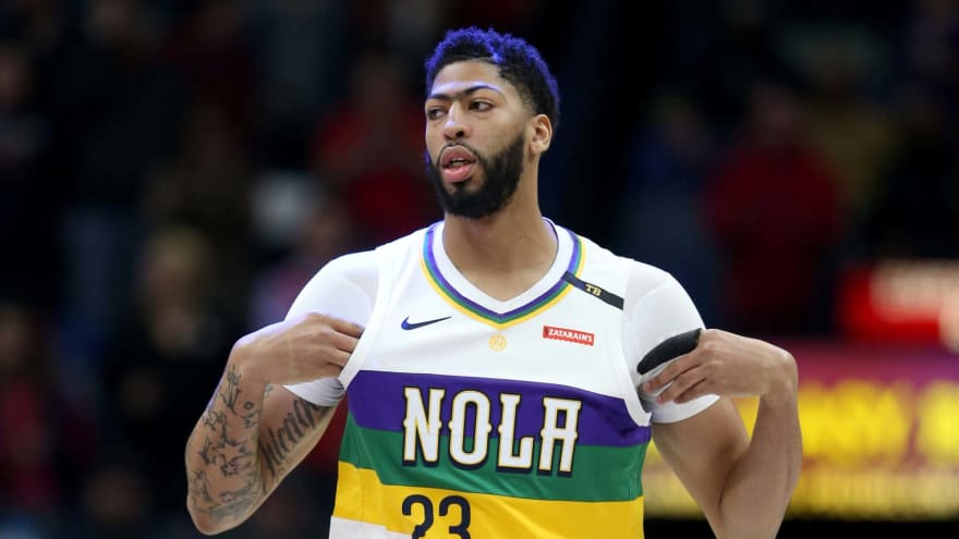 Pelicans were 'livid' with Anthony Davis for leaving arena