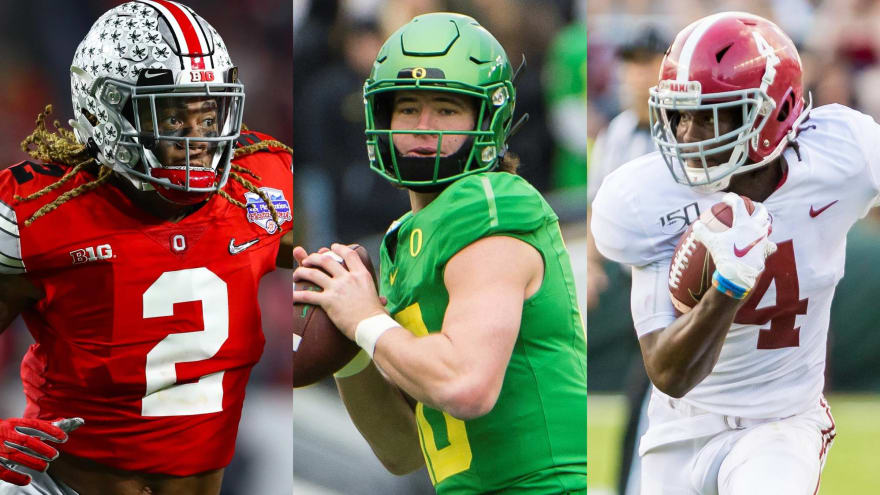First-round NFL mock draft: With the No. 2 pick, the Redskins select ...