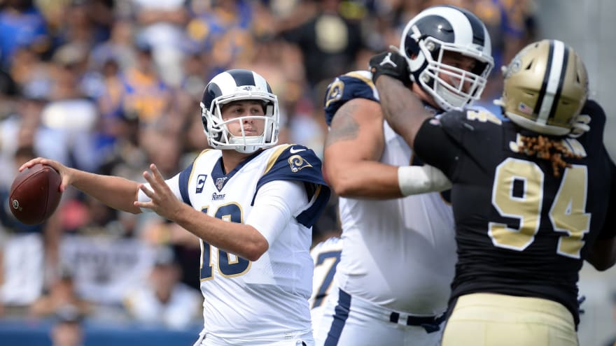 Saints fans livid after refs blow another crucial call in favor of Rams