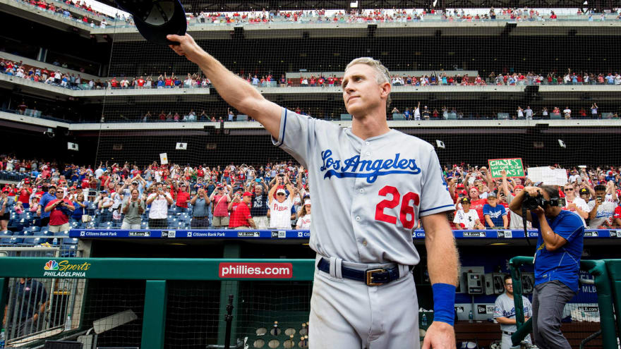 Chase Utley to formally retire