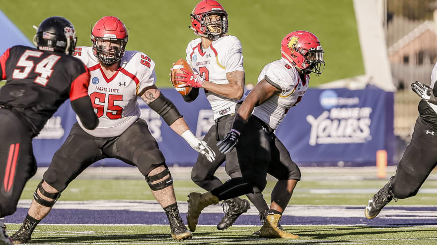 Watch Insane Ferris State Touchdown In Division Ii National Title