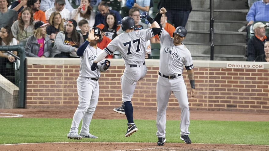 Watch: Yankees troll Orioles after yet another home run