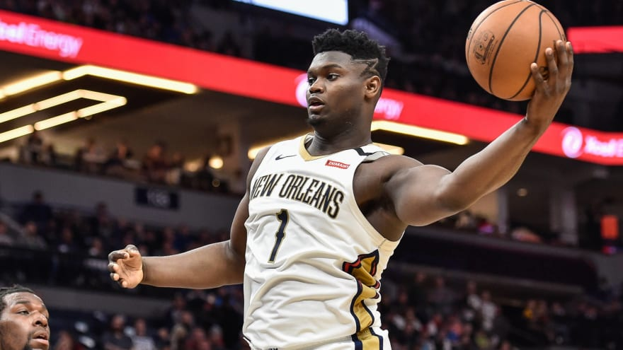 Alvin Gentry: Zion Williamson 'worked extremely hard' during ...