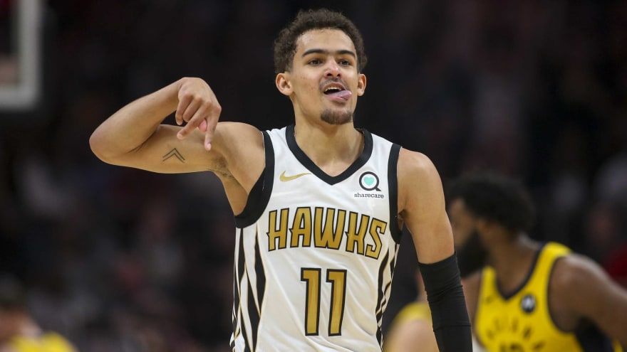 Trae Young Had To Withdraw From Team Usa Due To Eye