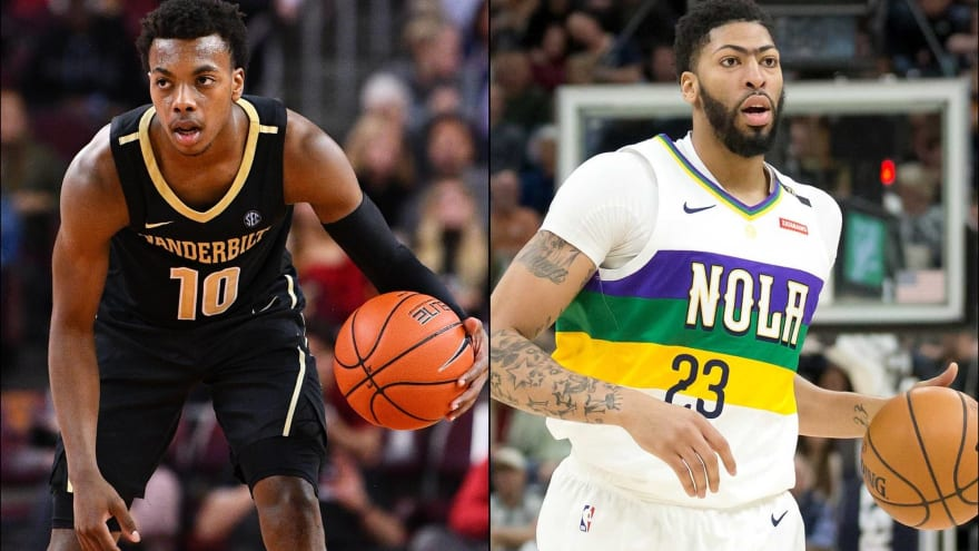 Nba Mock Draft 6 0 Chaos Edition Features Anthony Davis