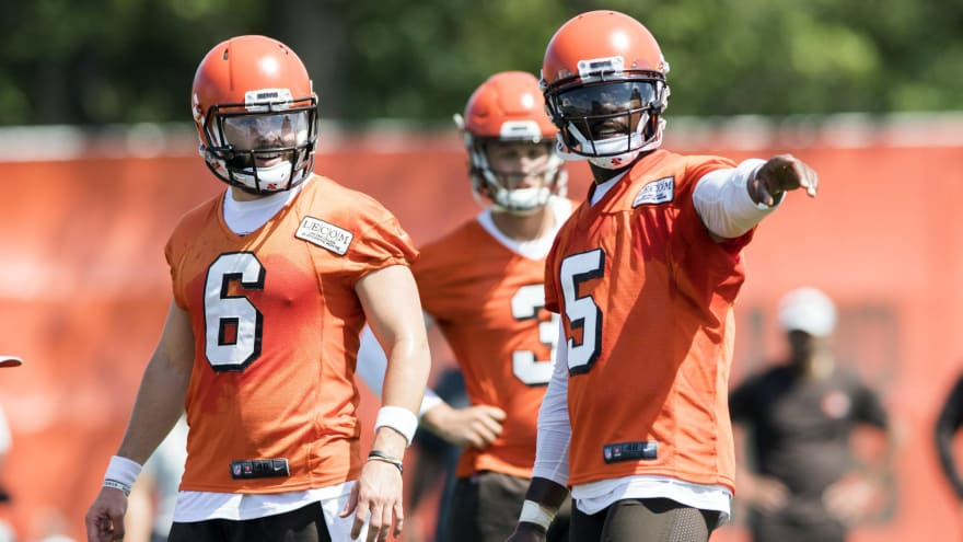 91c1bc5df Browns QBs   Hard Knocks  banned from top secret RV clubhouse ...