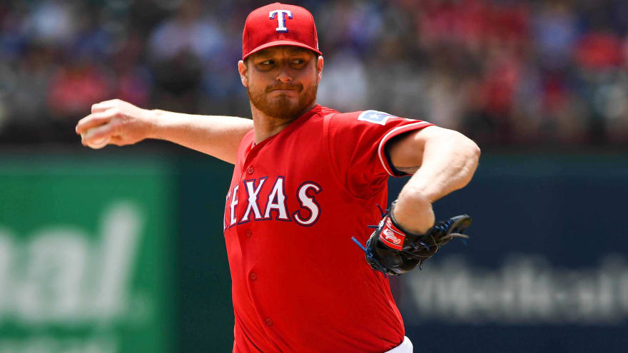 Rangers designate former All-Star P Shelby Miller for