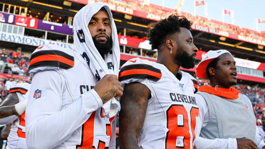 Freddie Kitchens has funny retort to Jarvis Landry saying Browns need to feed OBJ