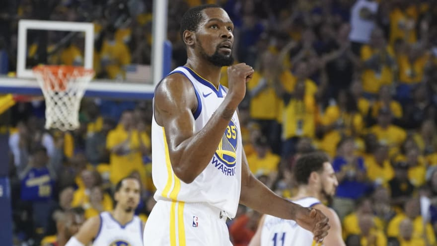 4811eaeb7456 Kevin Durant responds to critics saying Warriors are better without ...