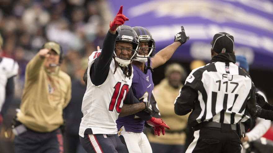 DeAndre Hopkins calls for new pass-interference reviewers