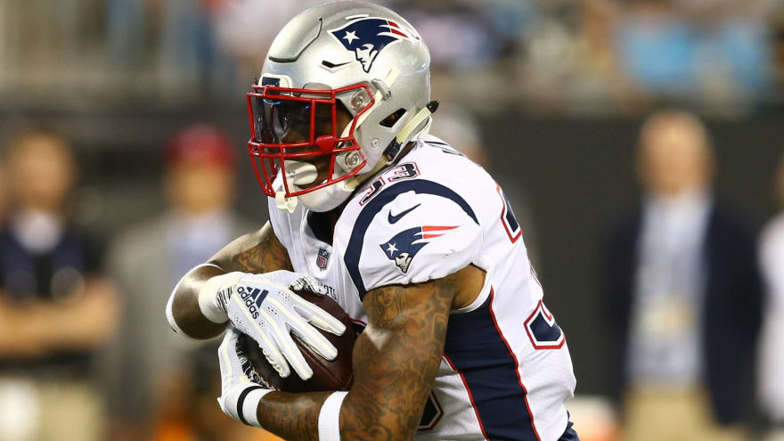 Patriots lose RB Jeremy Hill for the season