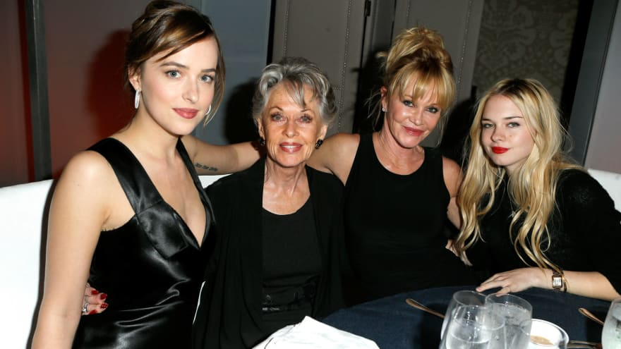 Actors and actresses with famous mothers