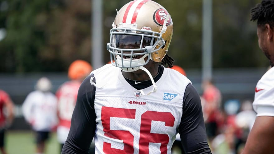 6381f89c7 Reuben Foster suffers concussion during 49ers  third preseason game ...