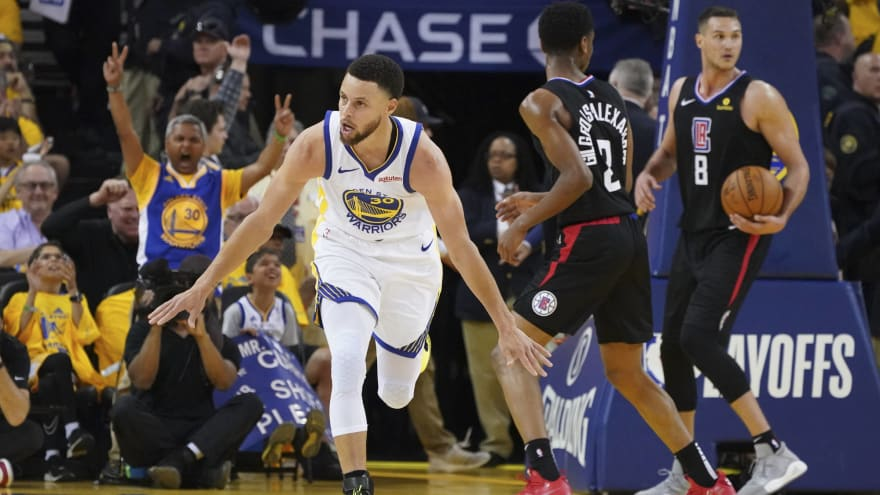 6e8f72bb7a04 Steph Curry mum on reason for changing shoes during playoff game ...