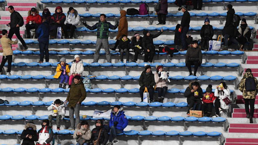 2018 Winter Olympics finally reaches 1 million in attendance