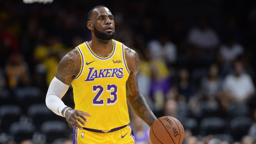 3bbc9294c903 LeBron James will make Lakers  debut at Staples Center on Tuesday ...