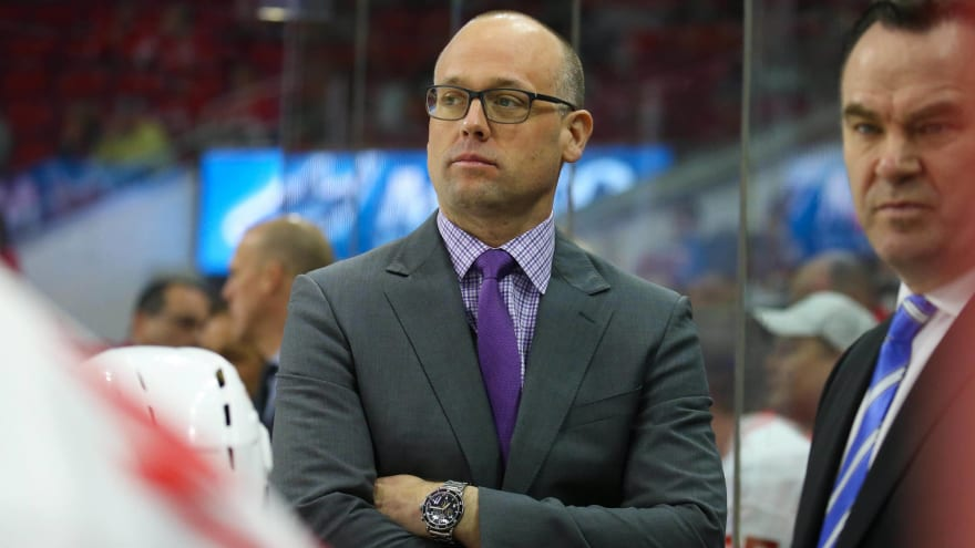 Report: Red Wings expected to start contract negotiations for Jeff Blashill