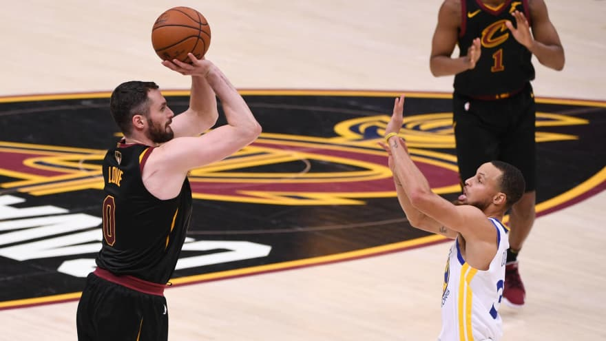 Kevin Love has hilarious post welcoming Channing Frye back to Cavs